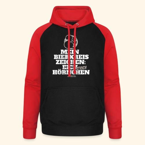Lustiges Bier T Shirt Eichstrichhörnchen - Unisex Baseball Hoodie