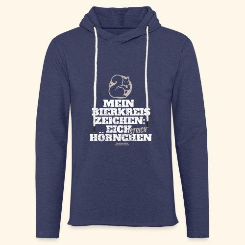 Lustiges Bier T Shirt Eichstrichhörnchen - Leichtes Kapuzensweatshirt Unisex