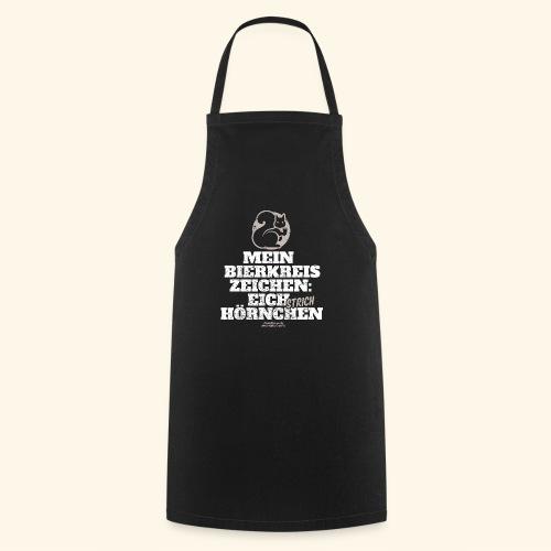 Lustiges Bier T Shirt Eichstrichhörnchen - Kochschürze