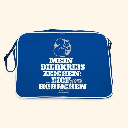 Lustiges Bier T Shirt Eichstrichhörnchen - Retro Tasche