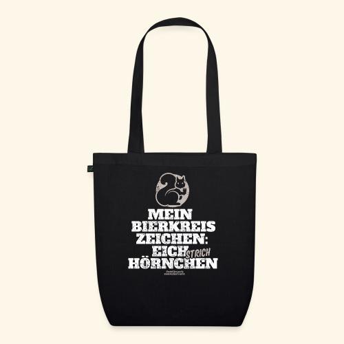 Lustiges Bier T Shirt Eichstrichhörnchen - Bio-Stoffbeutel