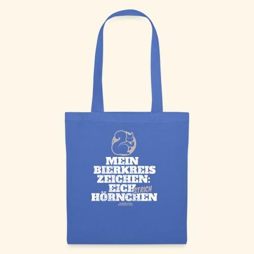 Lustiges Bier T Shirt Eichstrichhörnchen - Stoffbeutel