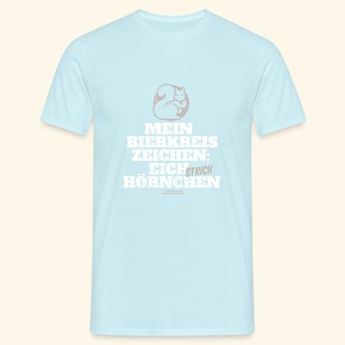 Lustiges Bier T Shirt Eichstrichhörnchen - Männer T-Shirt