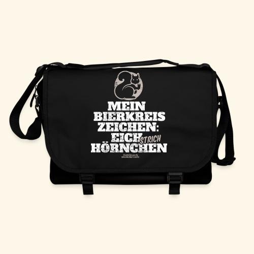 Lustiges Bier T Shirt Eichstrichhörnchen - Umhängetasche
