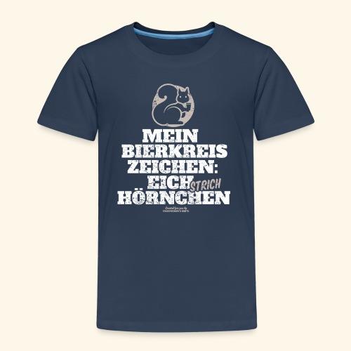 Lustiges Bier T Shirt Eichstrichhörnchen - Kinder Premium T-Shirt