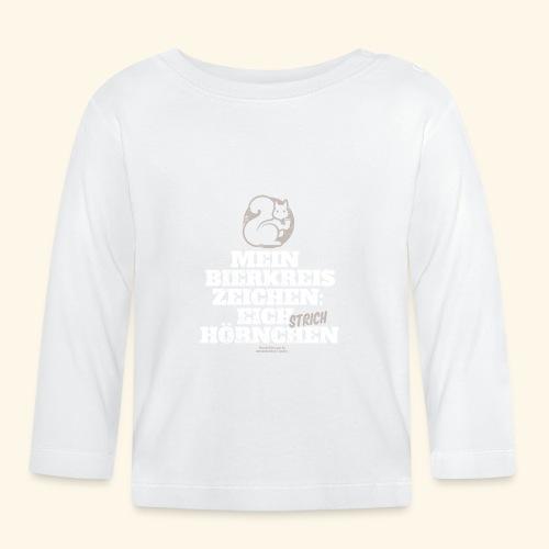Lustiges Bier T Shirt Eichstrichhörnchen - Baby Langarmshirt