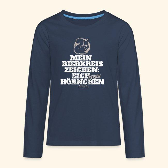 Lustiges Bier T Shirt Eichstrichhörnchen