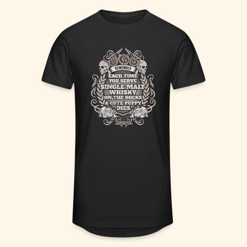 Whisky T Shirt Single Malt Whisky - Männer Urban Longshirt
