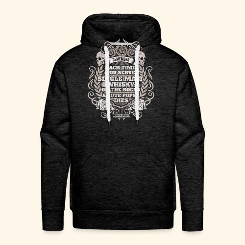 Whisky T Shirt Single Malt Whisky - Männer Premium Hoodie