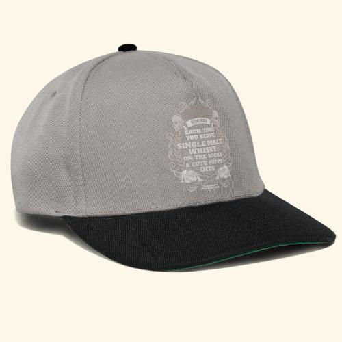 Whisky T Shirt Single Malt Whisky - Snapback Cap