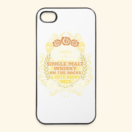 Whisky T Shirt Single Malt Whisky - iPhone 4/4s Hard Case