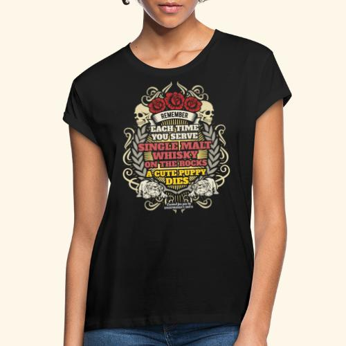 Whisky T Shirt Single Malt Whisky - Frauen Oversize T-Shirt