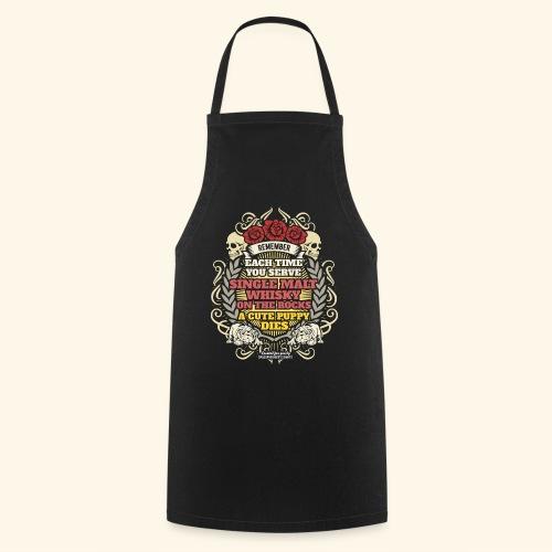 Whisky T Shirt Single Malt Whisky - Kochschürze