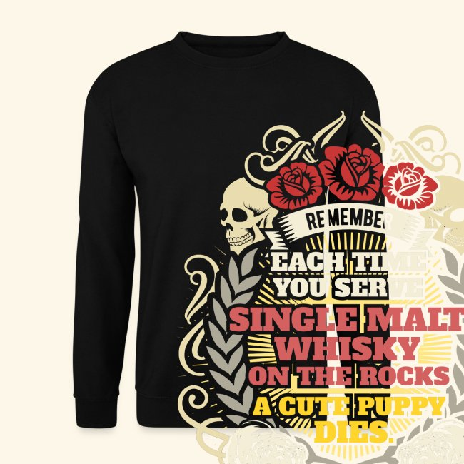 Whisky T Shirt Single Malt Whisky