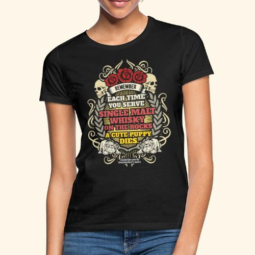 Whisky T Shirt Single Malt Whisky - Frauen T-Shirt