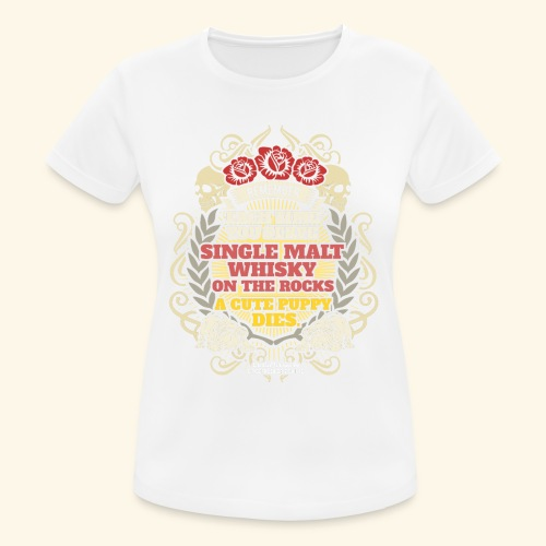 Whisky T Shirt Single Malt Whisky - Frauen T-Shirt atmungsaktiv