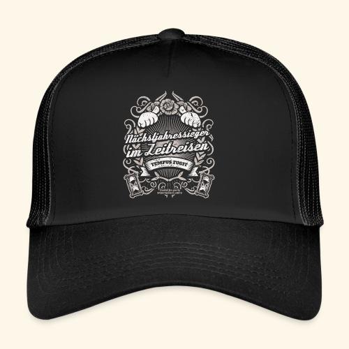 Lustiges Sprüche T Shirt Zeitreisen - Trucker Cap