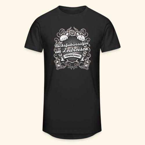 Lustiges Sprüche T Shirt Zeitreisen - Männer Urban Longshirt