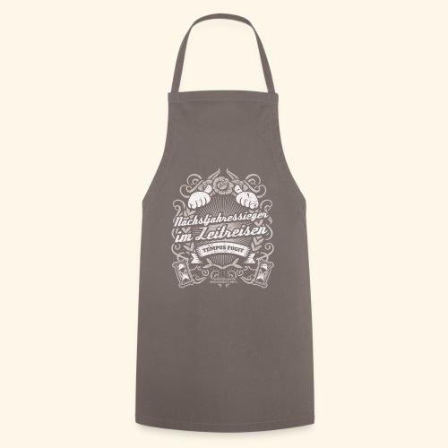 Lustiges Sprüche T Shirt Zeitreisen - Kochschürze