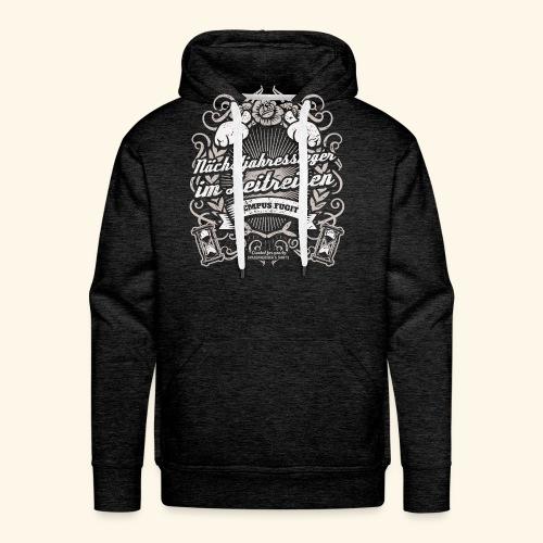 Lustiges Sprüche T Shirt Zeitreisen - Männer Premium Hoodie