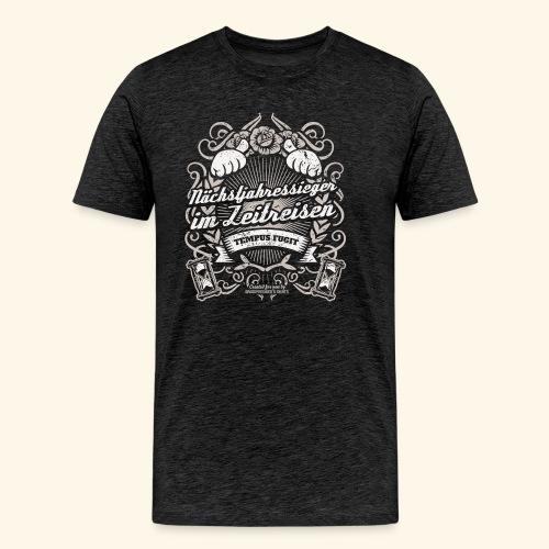 Lustiges Sprüche T Shirt Zeitreisen - Männer Premium T-Shirt