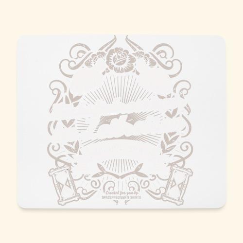Lustiges Sprüche T Shirt Zeitreisen - Mousepad (Querformat)