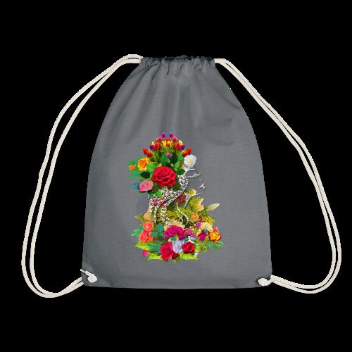 Lady flower by T-shirt chic et choc - Sac de sport léger