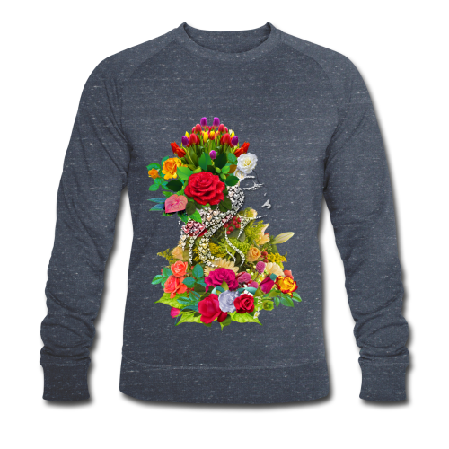 Lady flower by T-shirt chic et choc - Sweat-shirt bio Stanley & Stella Homme