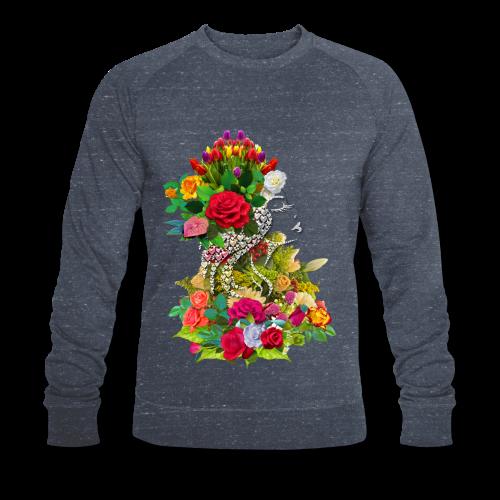 Lady flower by T-shirt chic et choc - Sweat-shirt bio Stanley & Stella Homme