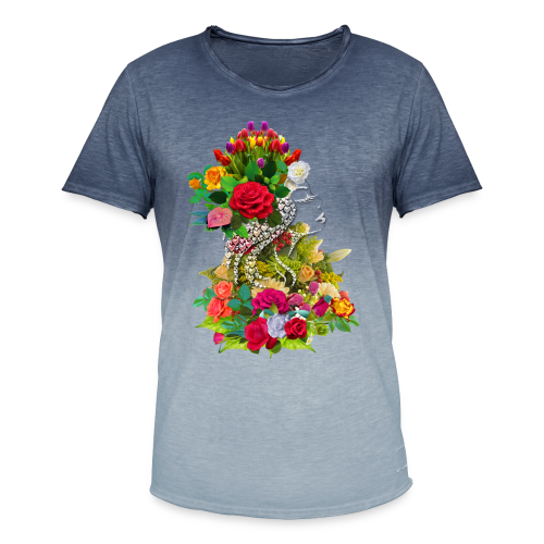 Lady flower by T-shirt chic et choc - T-shirt dégradé Homme