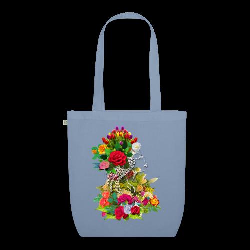 Lady flower by T-shirt chic et choc - Sac en tissu biologique