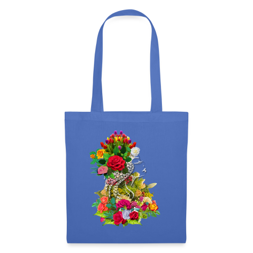 Lady flower by T-shirt chic et choc - Tote Bag