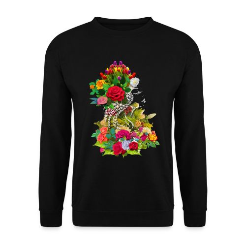 Lady flower by T-shirt chic et choc - Sweat-shirt Homme