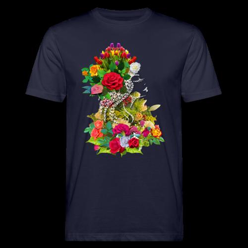 Lady flower by T-shirt chic et choc - T-shirt bio Homme