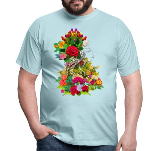 Lady flower by T-shirt chic et choc - T-shirt Homme