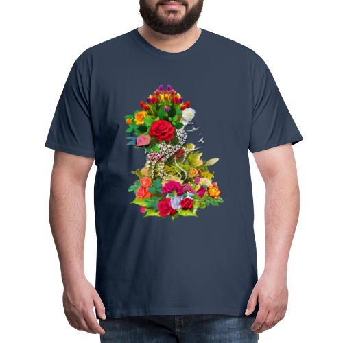 Lady flower by T-shirt chic et choc - T-shirt Premium Homme