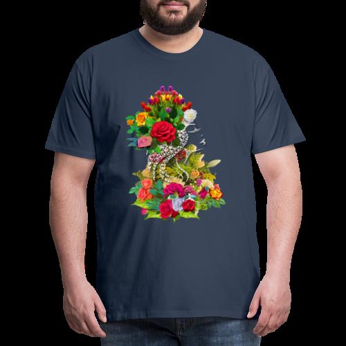 Lady flower by T-shirt chic et choc - T-shirt Premium Homme