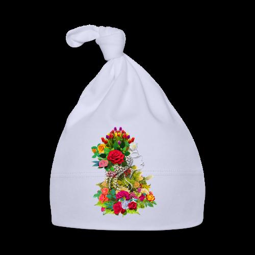 Lady flower by T-shirt chic et choc - Bonnet Bébé