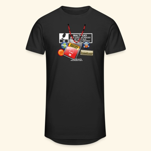 Whisky T Shirt Tasting Expert - Männer Urban Longshirt