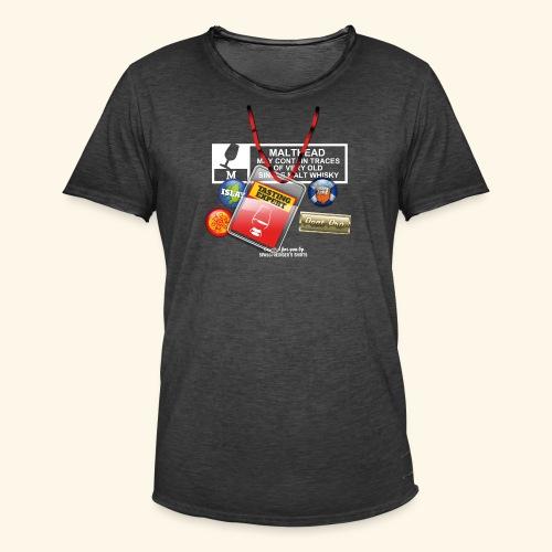 Whisky T Shirt Tasting Expert - Männer Vintage T-Shirt