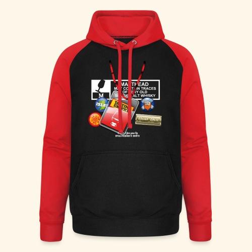 Whisky T Shirt Tasting Expert - Unisex Baseball Hoodie