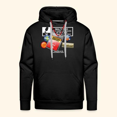 Whisky T Shirt Tasting Expert - Männer Premium Hoodie