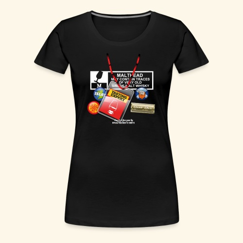 Whisky T Shirt Tasting Expert - Frauen Premium T-Shirt