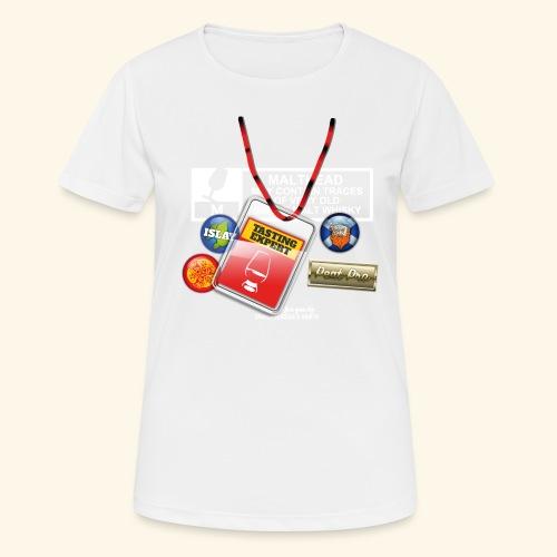 Whisky T Shirt Tasting Expert - Frauen T-Shirt atmungsaktiv