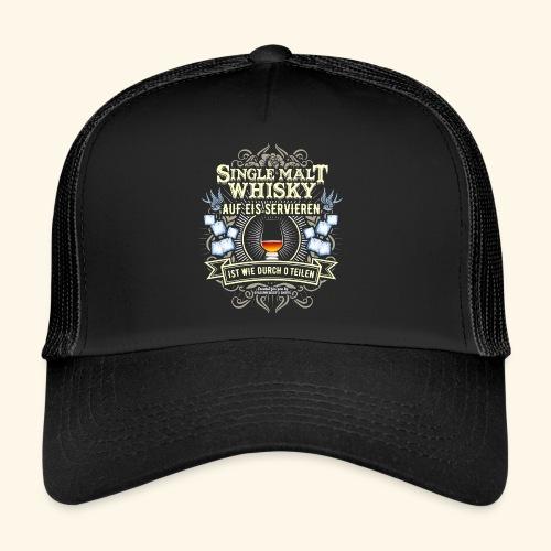 Whisky T Shirt Single Malt | das Original - Trucker Cap