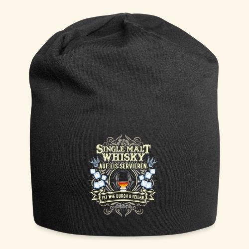 Whisky T Shirt Single Malt | das Original - Jersey-Beanie