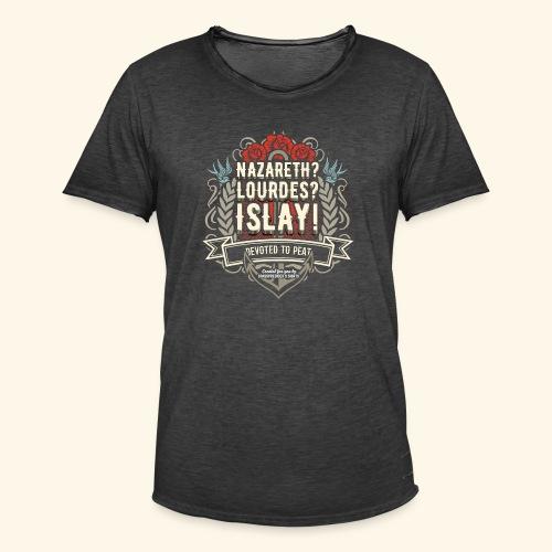 Whisky T Shirt Islay - Männer Vintage T-Shirt