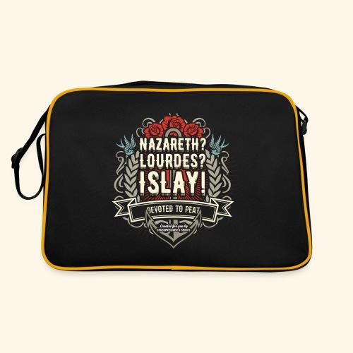 Whisky T Shirt Islay - Retro Tasche