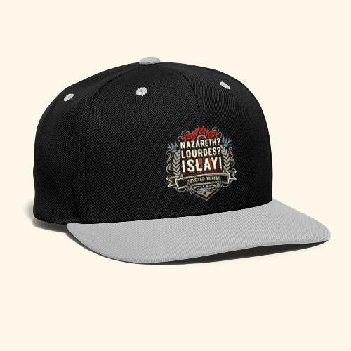 Whisky T Shirt Islay - Kontrast Snapback Cap