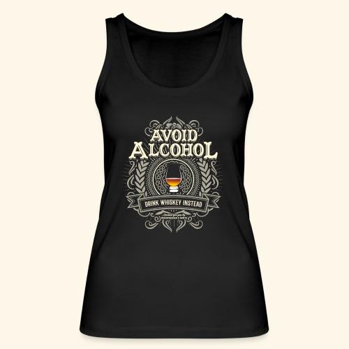 Whiskey T Shirt Avoid Alcohol - Frauen Bio Tank Top von Stanley & Stella